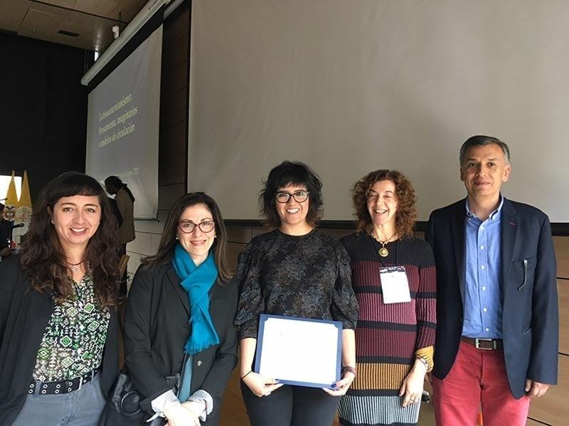 Karina Soledad Marín, egresada del Doctorado en Literatura, ganadora del Premio a la Mejor Tesis 2018