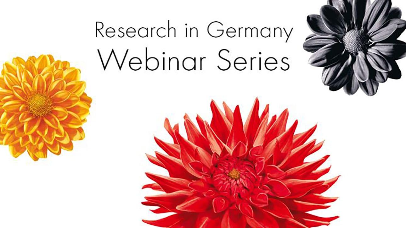 «Research in Germany» realizará webinars para jóvenes investigadores