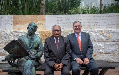 Visita del embajador de la India en Colombia a la Universidad de los Andes