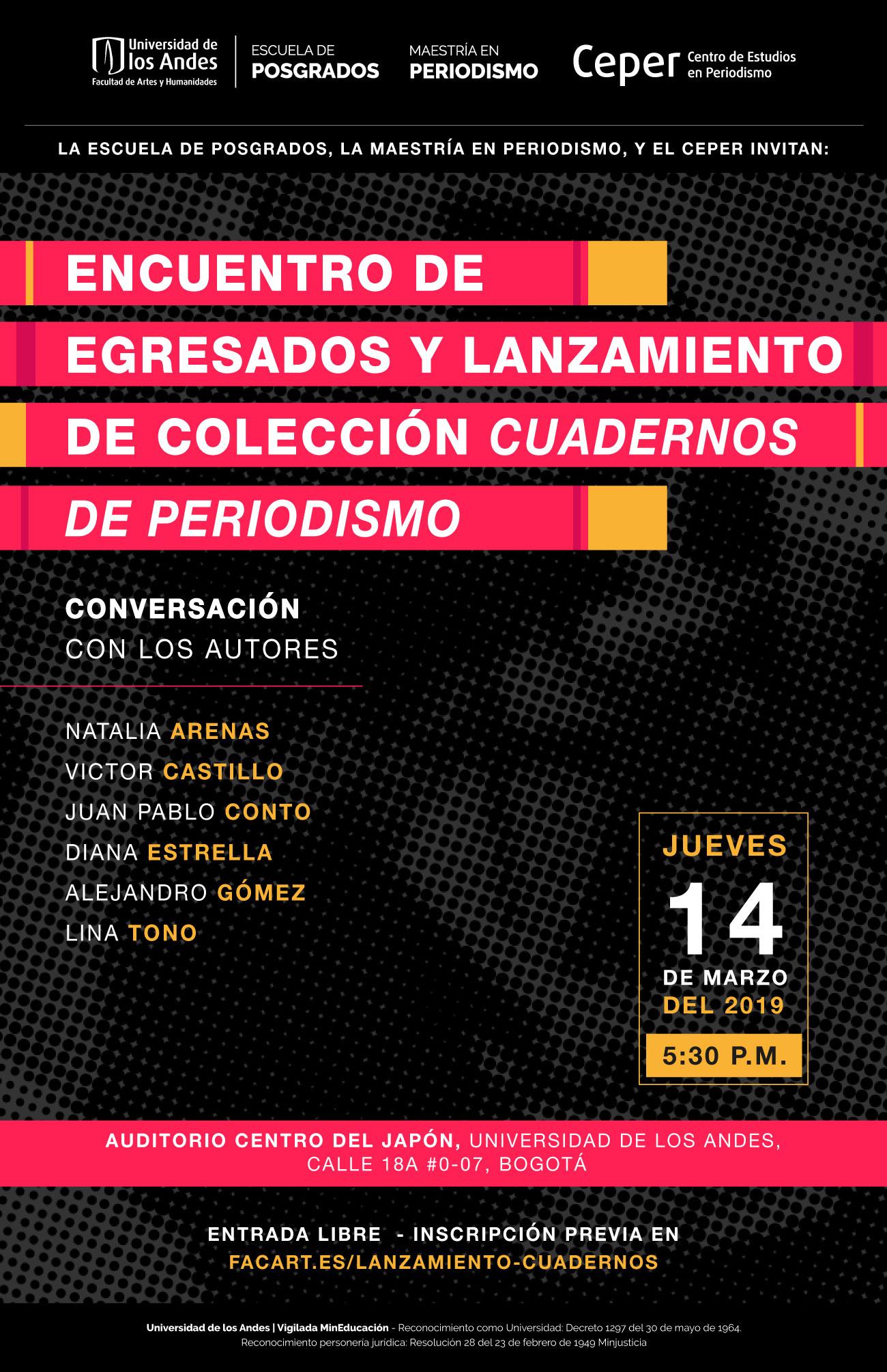 Lanzamiento de la Colección Cuadernos de Periodismo