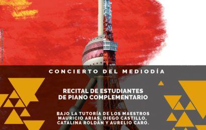 Concierto del mediodía: Recital de obras de compositores chinos y japoneses para piano