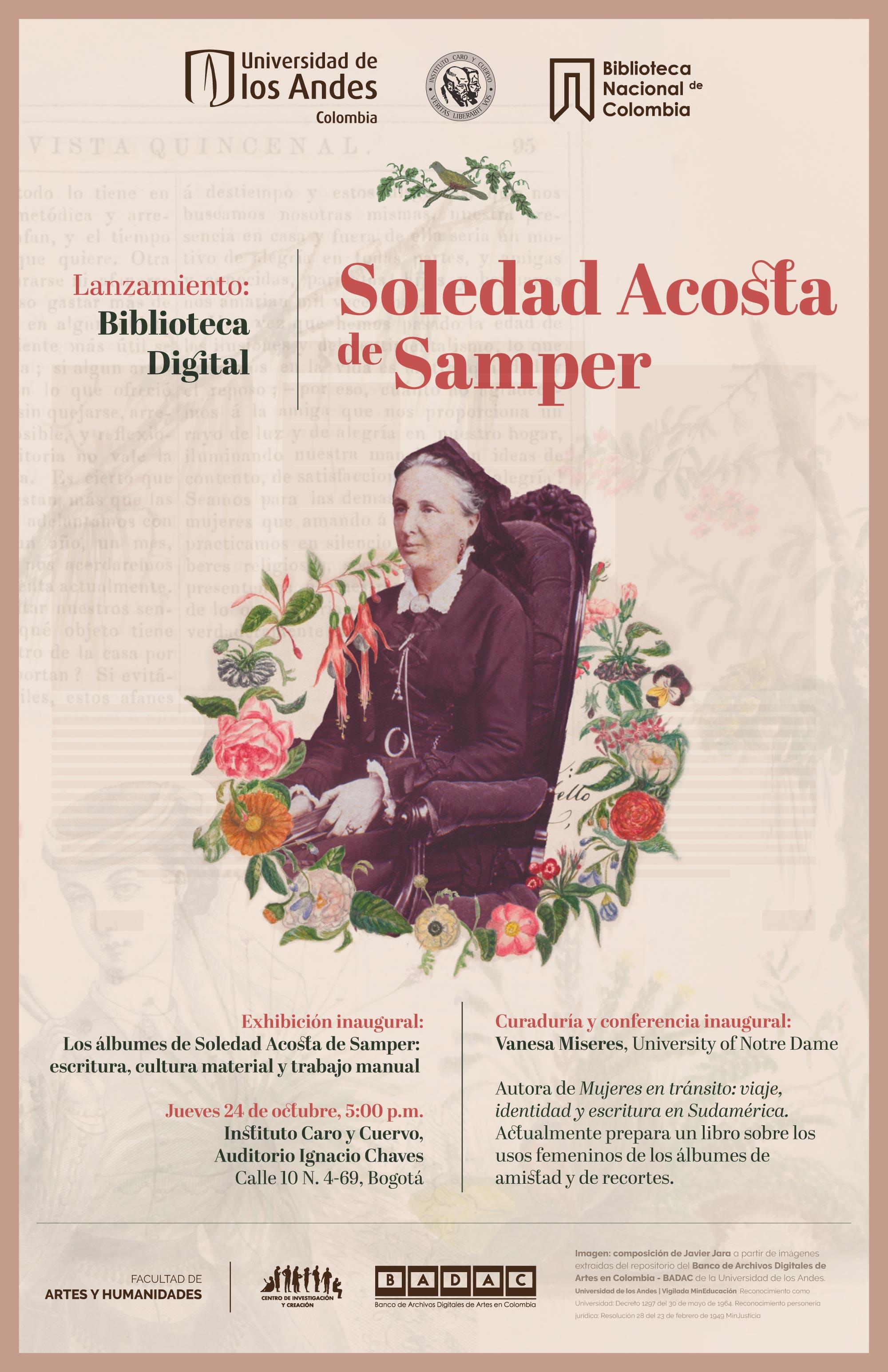Lanzamiento Biblioteca digital Soledad Acosta