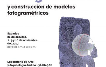Curso de fotogrametría y construcción de modelos fotogramétricos con Luis Felipe Raguá