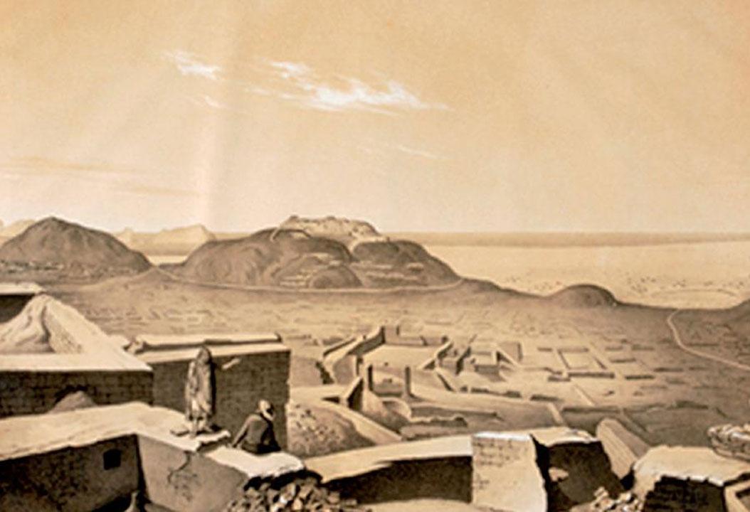 """""""Antigüedades peruanas"""", lámina 54 (Pachacamac). Reproducido con autorización del Getty Research Institute, Los Ángeles (84-B12358)."""