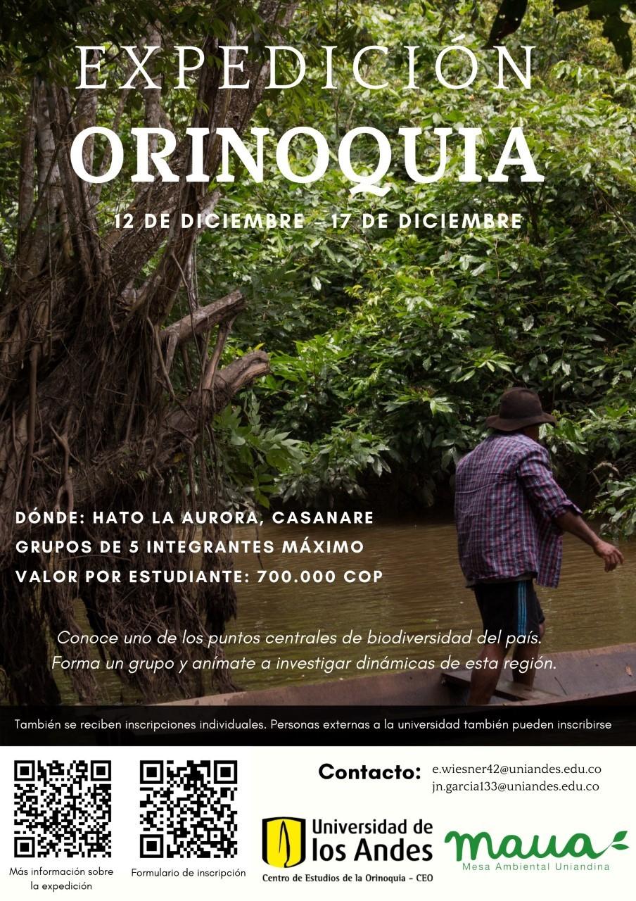 Expedición Orinoquia 12-17 de diciembre