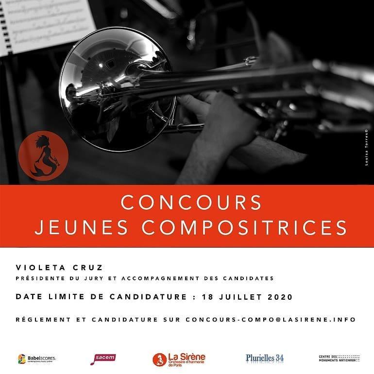 Concurso: Jóvenes Compositoras | Orquesta La Sirena de París
