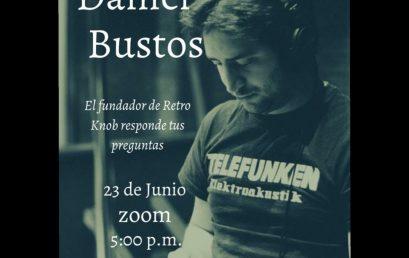 Charla con Daniel Bustos | AES Uniandes