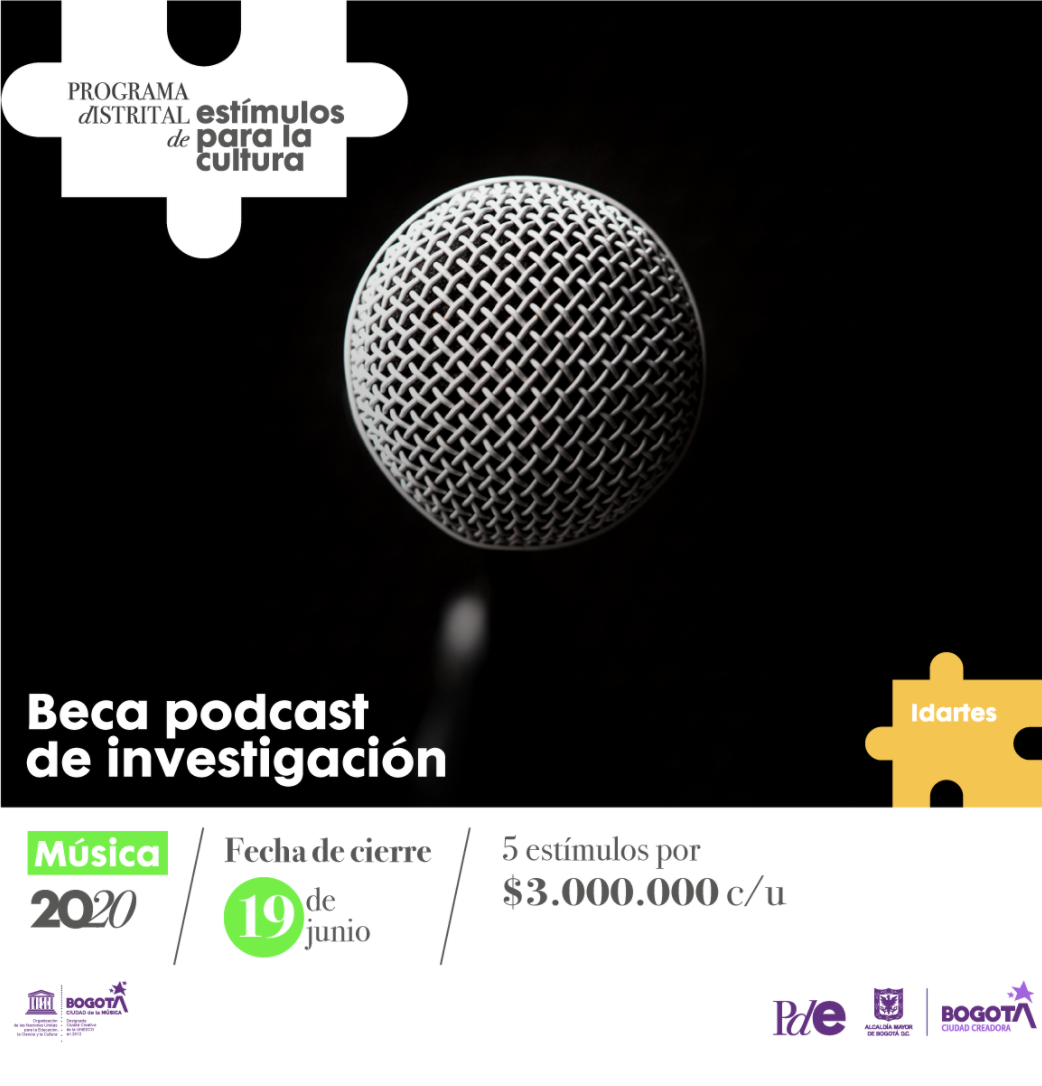 Beca: Podcast de investigación – Música