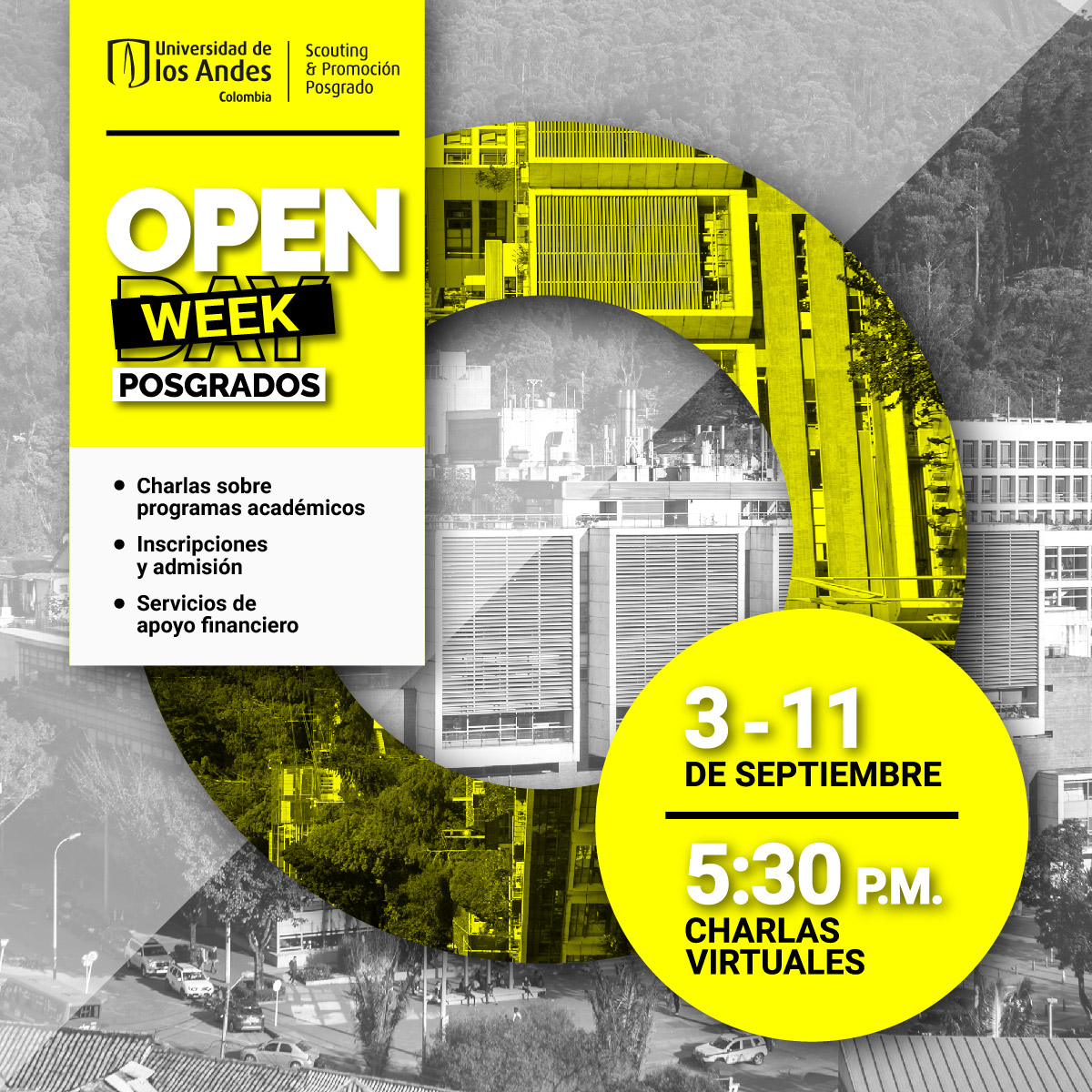 Open week de Posgrados