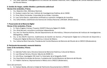 Diálogos sobre el patrimonio audiovisual: riesgos y estrategias