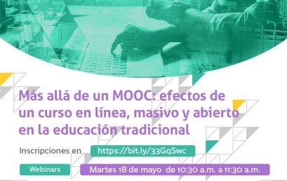 Más allá de un MOOC: efectos de un curso en línea, masivo y abierto en la educación tradicional