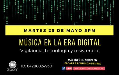 Música en la era digital: vigilancia, tecnología y resistencia